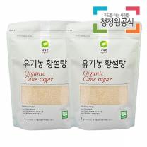 청정원 유기농황설탕 1kgx2개