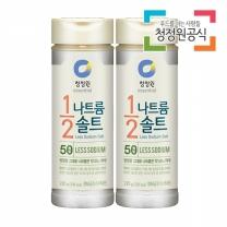 청정원 나트륨1/2솔트 220gx2개