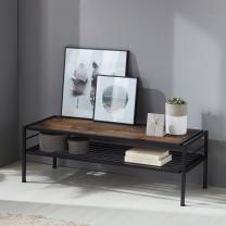 인터데코 DIY 스틸 와이드 테이블 TR007