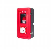 신광안전산업 소화기함1구SKS-1-1 경보기소화기포함