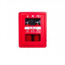 신광안전산업 소화기함2구SKS-2 소화기포함