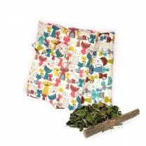 힐링타임 꿀잼 놀이터 바스락 방석 고양이방석 소형 색상랜덤