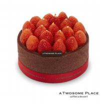 [투썸플레이스] 스트로베리초콜릿생크림 케익