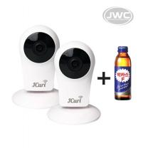 [큐리캠2대세트] 가정용CCTV 스마트웹캠 + 박카스F 증정(100개한정)