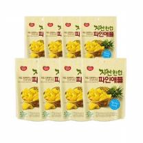 [동원]자연한입 파인애플 70g X 8봉 /간식/건과일