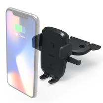 [아이오티] 차량용 휴대폰 무선충전 거치대 CD형 EOT4W-VD