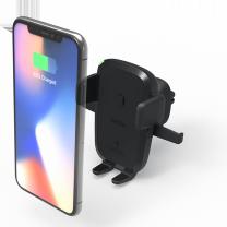 [아이오티] 차량용 휴대폰 무선충전 거치대 송풍구형 EOT4W-Vent