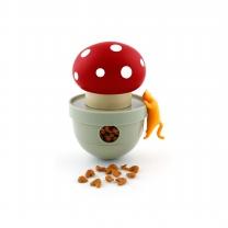 르칙 고양이 텀블러 빨간점버섯
