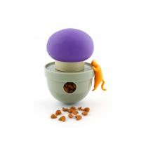르칙 고양이 텀블러 보라색버섯