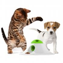 르칙 강아지장난감 스낵 볼 퍼즐러 그린&화이트