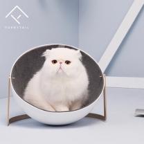 [바보사랑]퓨리테일 고양이 침대 골드