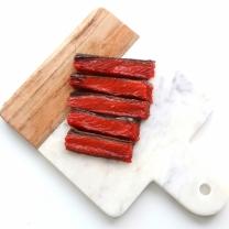 [바보사랑]강아지 수제간식 홍연어 육포 50g