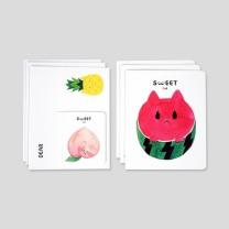 [바보사랑]카드세트-26 스위트캣 1 (봉지)
