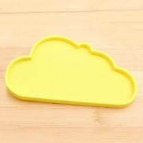 [바보사랑]구름 실리콘 컵받침 쟁반