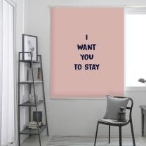 스테이-핑크 롤스크린 (R1283)