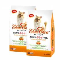 슈슈캣 슈퍼푸드 어덜트 1.5kg x 2개  고양이사료