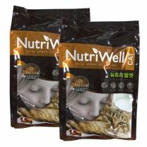 뉴트리웰 캣 1.5kg x 2개 고양이사료