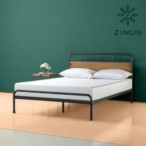 지누스 산타페 하이브리드 침대 프레임 (퀸)