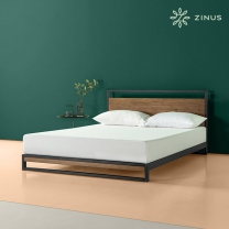 지누스 아이언라인 하이브리드 침대 프레임 (슈퍼싱글)