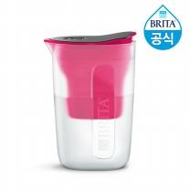 필터형 정수기 브리타 펀 1.5L 핑크 + 필터 1개월분 (기본구성)