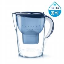 필터형 정수기 브리타 마렐라XL 3.5L 블루 + 필터 1개월분 (기본구성)