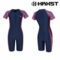 HTA-W09 헤스트 여성인 반전신 반팔 실내수영복