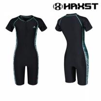 HTA-W10 헤스트 여성인 반전신 반팔 실내수영복