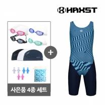 HTA-J04 헤스트 여주니어 반전신 실내수영복