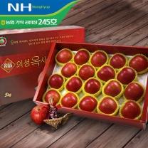 [농협/가락도매시장] 의성 옥 사과 선물세트 5kg내외(17-19입)