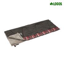 [로고스] 체크 포인트 침낭 0 (브라운) 72602020 캠핑 담요 사계절 방한용품 [로고스] 체크 포인트 침낭 0 (브라운)