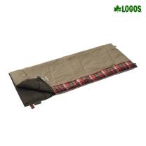 [로고스] 체크 포인트 침낭 2 (베이지) 72602010 캠핑 담요 사계절 방한용품 [로고스] 체크 포인트 침낭 2 (베이지)
