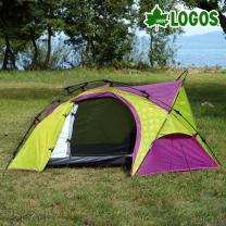[로고스] 캠핑 원터치 자동텐트 (1인용) 71600001 오토 트레킹 피크닉 천막  [로고스] 캠핑 원터치 자동텐트 (1인용)