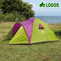 [로고스] 캠핑 원터치 자동텐트 (3인용) 71600003 오토 트레킹 피크닉 천막  [로고스] 캠핑 원터치 자동텐트 (3인용)