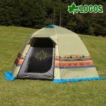 [로고스] 나바호 인디언 빅 돔 텐트 71806502 캠핑 피크닉 4인용 천막  [로고스] 나바호 인디언 빅 돔 텐트
