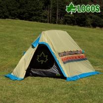 [로고스] 나바호 인디언 A형 텐트 71806503 캠핑 피크닉 2인용 천막  [로고스] 나바호 인디언 A형 텐트