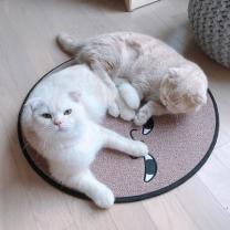 [바보사랑]스크래쳐용 고양이 소환 러그 Pink