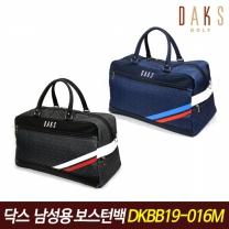 닥스골프 정품 남성용 보스턴백 DKBB19-016M 골프가방