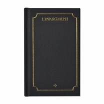 [바보사랑]1 Paragraph Hardcover 04-Black