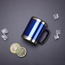 450ml 스텐 보온컵 휴대용 스텐 텀블러(블루)