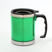 450ml 스텐 보온컵 휴대용 스텐 텀블러(그린)
