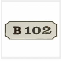 [바보사랑]그린 사출호수판 GHW2005 (사각백색)