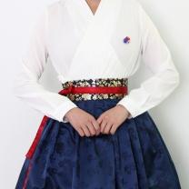 [바보사랑]차르 장저고리(화이트)