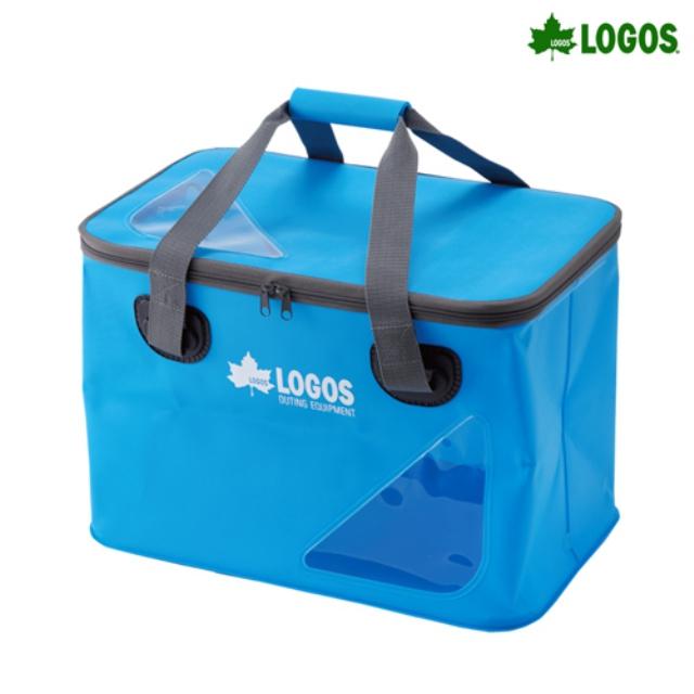 21ddaaca790 [로고스] 아쿠아 스톡박스 캠핑가방 (블루) 88230040 다용도 방수 수납박스 캠핑용품